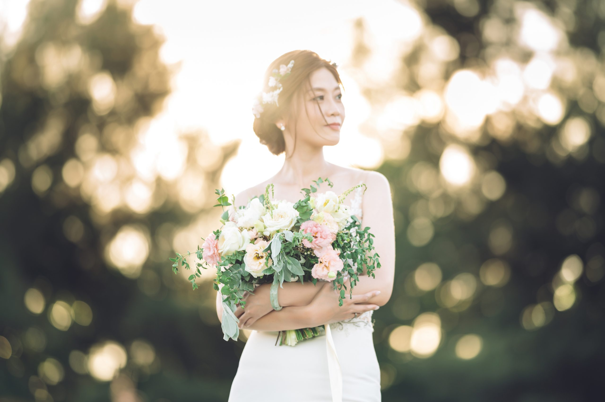 台中婚紗  煒中+嬿儒 Mydear 婚紗攝影 逆光婚紗