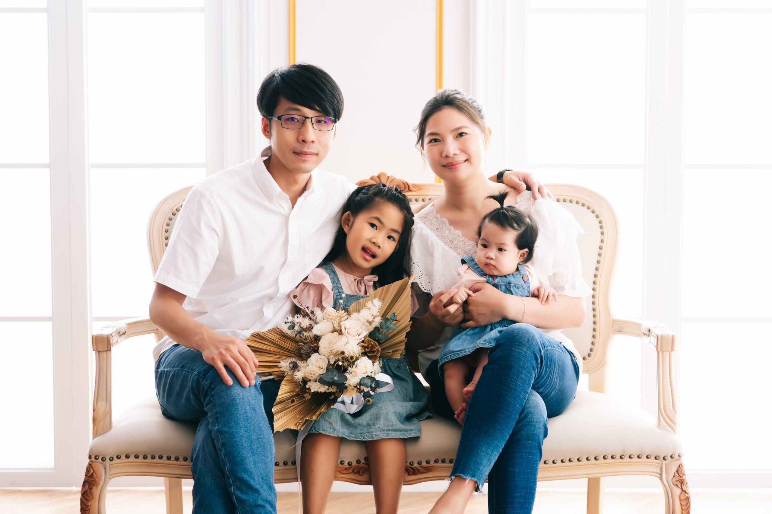 亭君家 全家福攝影 台中全家福 婚禮攝影推薦