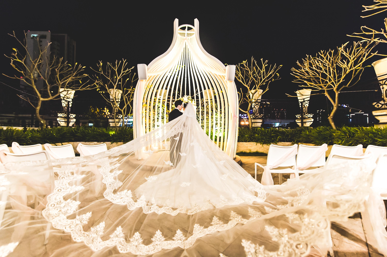 台中婚攝 成敏+亞亭 龍鳳褂 林酒店 戶外證婚 niniko