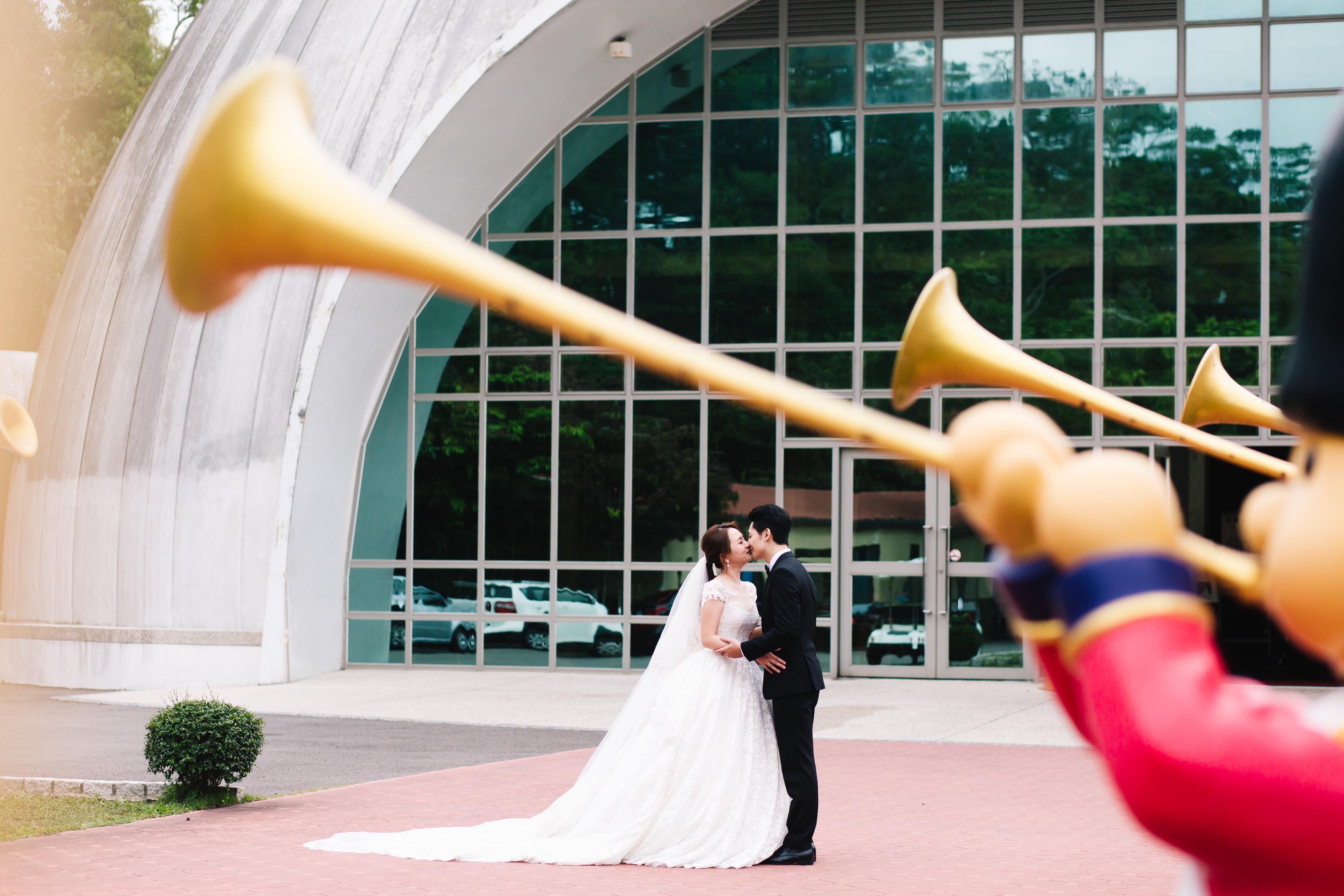 婚攝HK 偉丞+依琳 結婚迎娶 西湖度假村