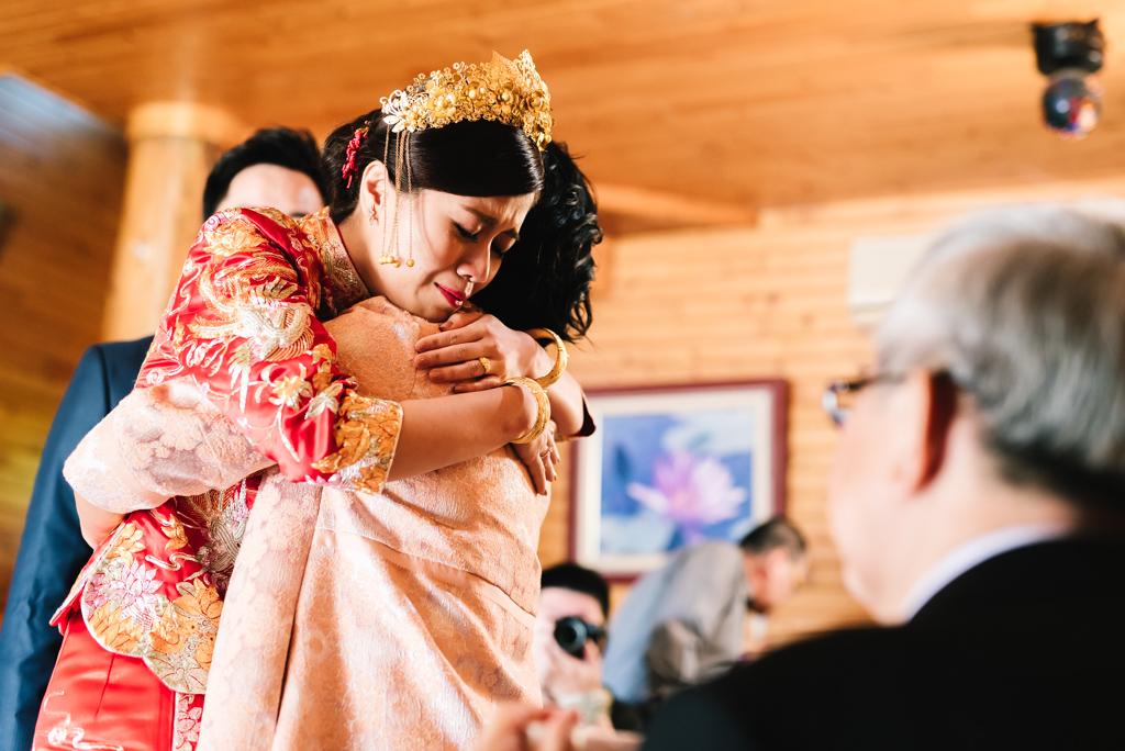 婚攝 訢哲+玟萱 結婚迎娶 龍鳳褂 錦湖山莊