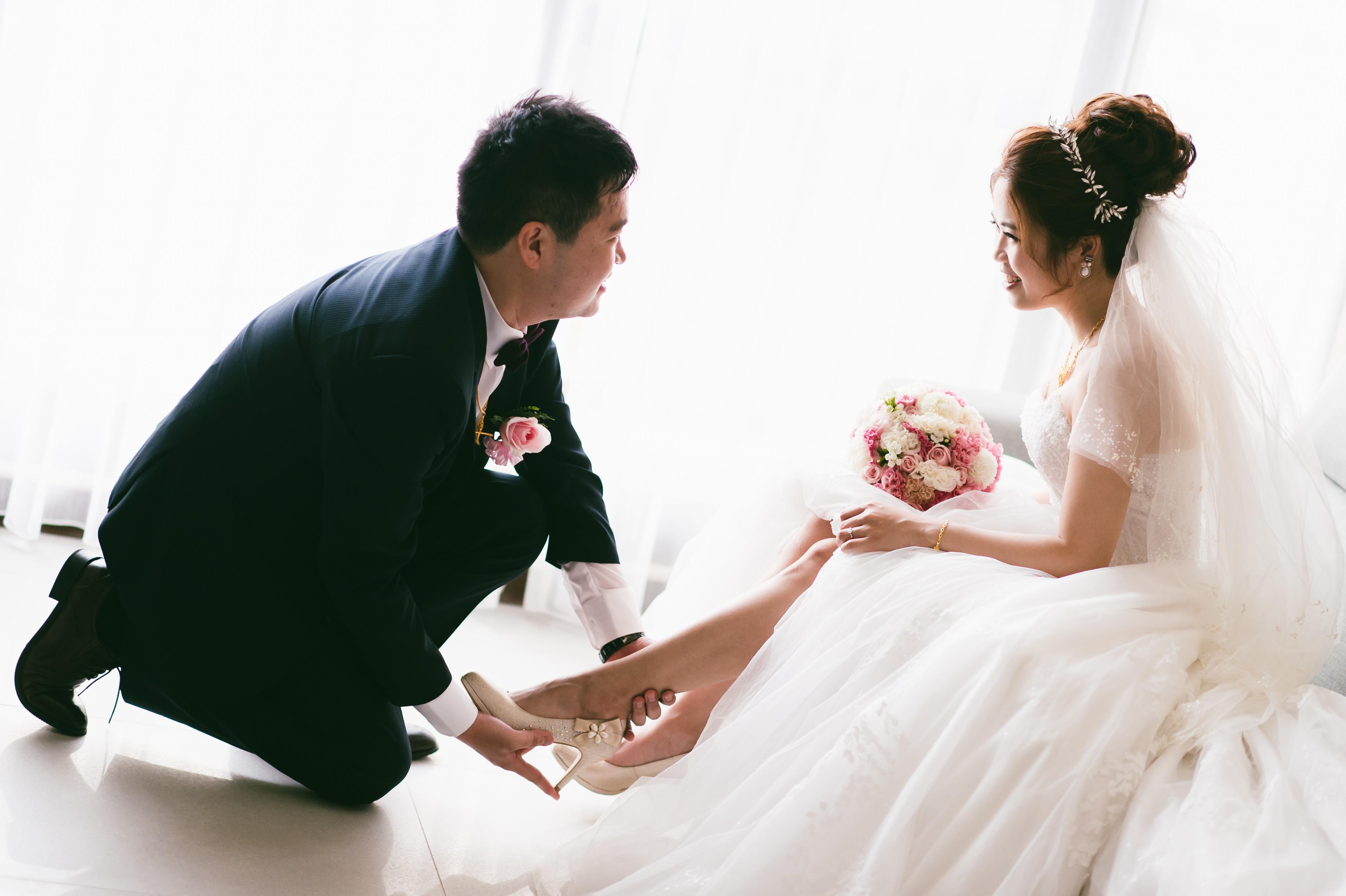 台中婚攝 智捷+昀蓁 結婚迎娶 僑園大飯店