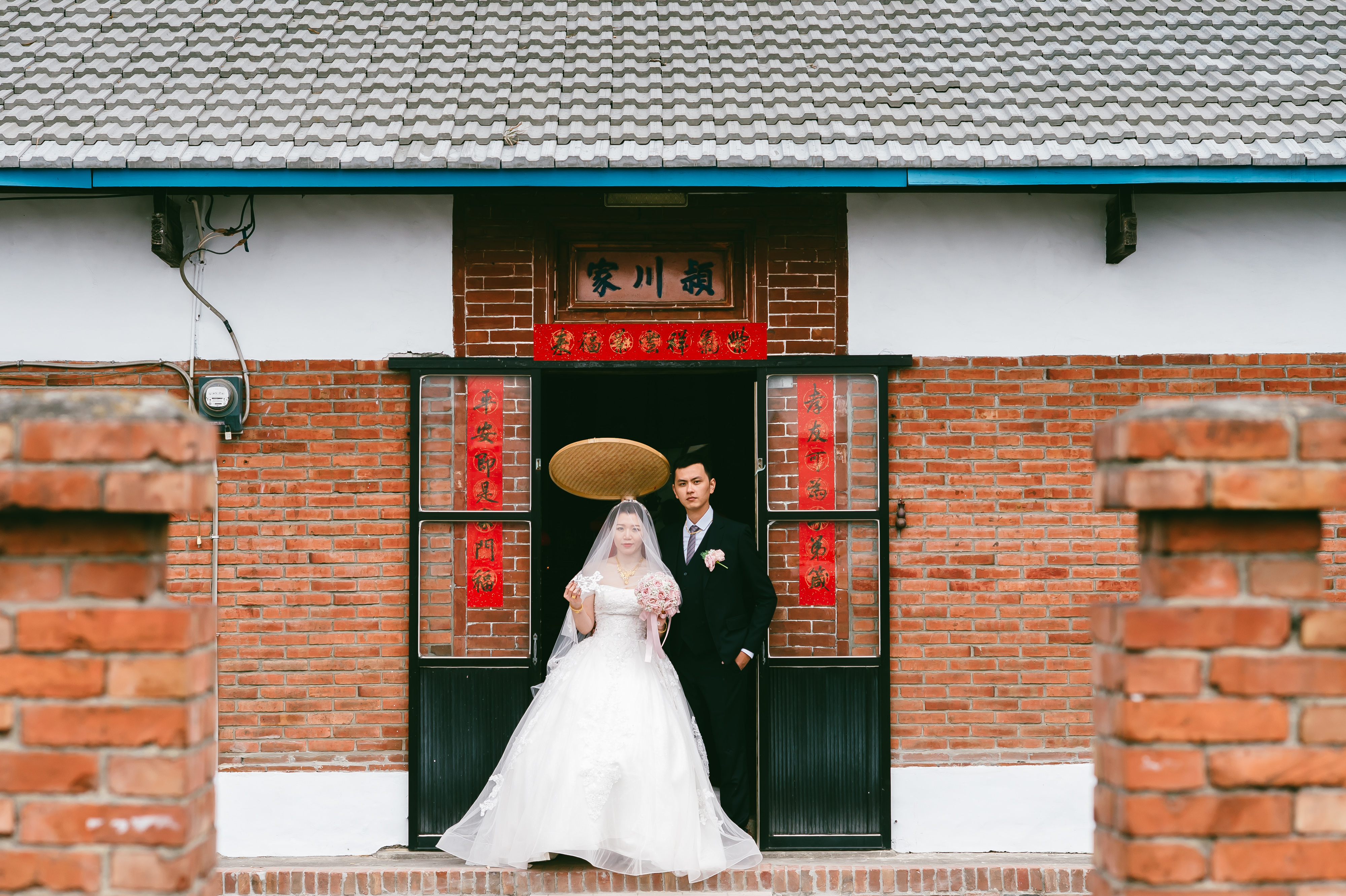 台中婚攝 柏綸+珮綺 結婚迎娶 林酒店 國際廳