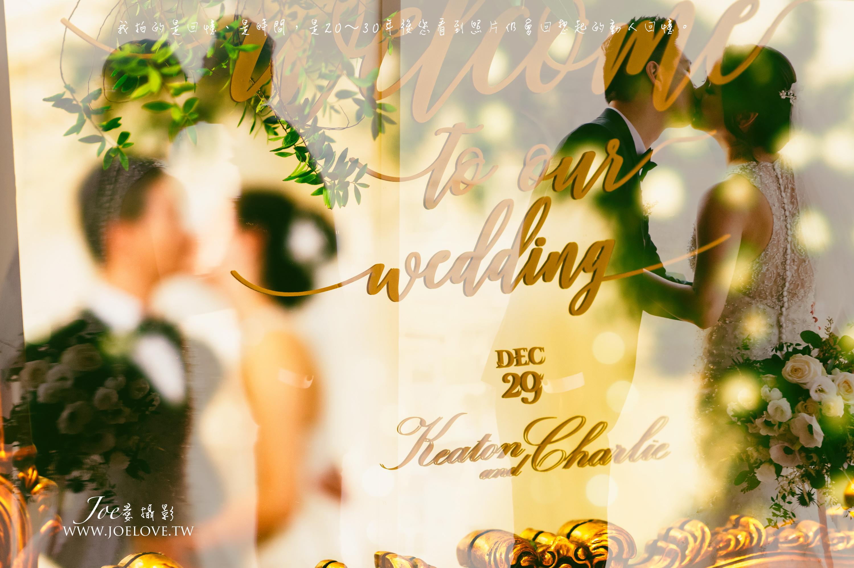 台中林酒店婚攝 Charlie+Keaton 台中婚攝  教會證婚